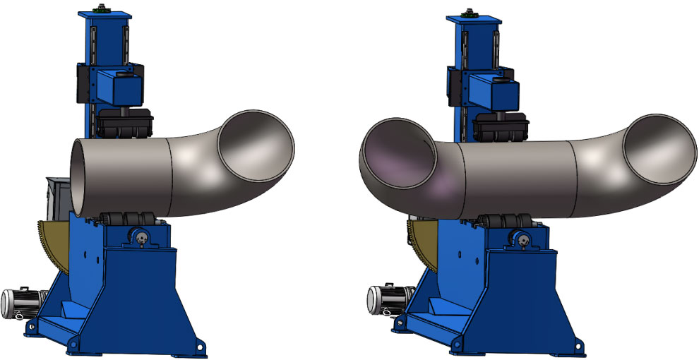 PIPE PINCHING ROTATOR – YGHB Series