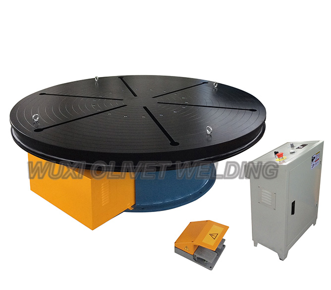 Introduction to The Five Characteristics of Welding TurnTable​