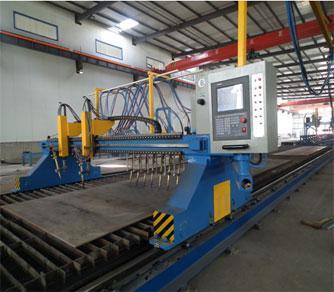 H-Beam CNC Flame/Straight Cutting Machine