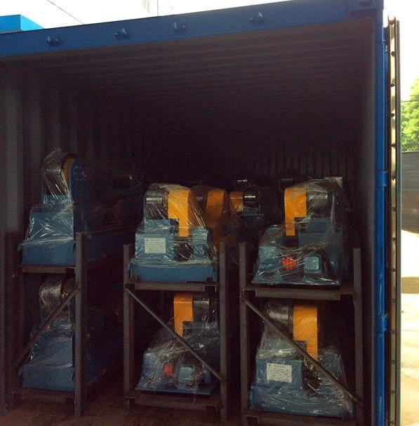 welding rotators for delivery