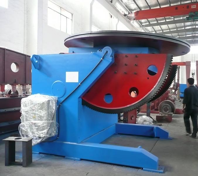 rated loading 30T welding positioner